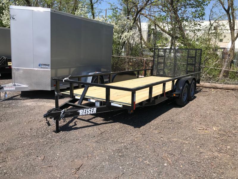 2018 Reiser Trailers 71810K Utility Trailer