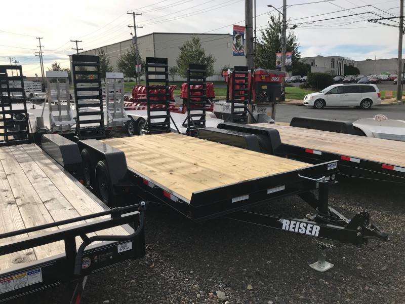 2018 Reiser Trailers ET14 Flatbed Trailer