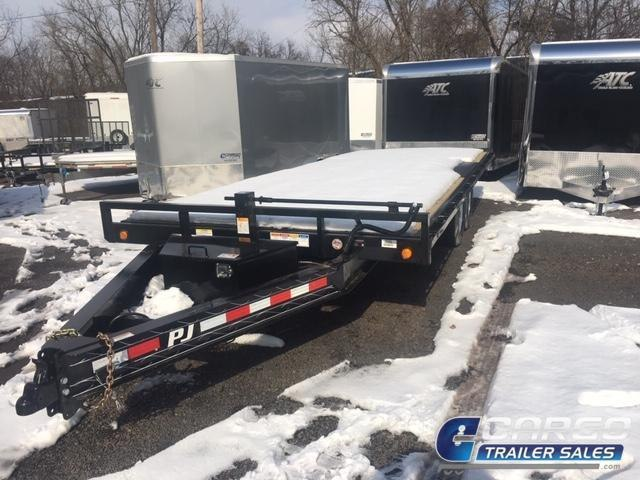 2019 PJ Trailers T8 DO Tilt 22 Flatbed Trailer