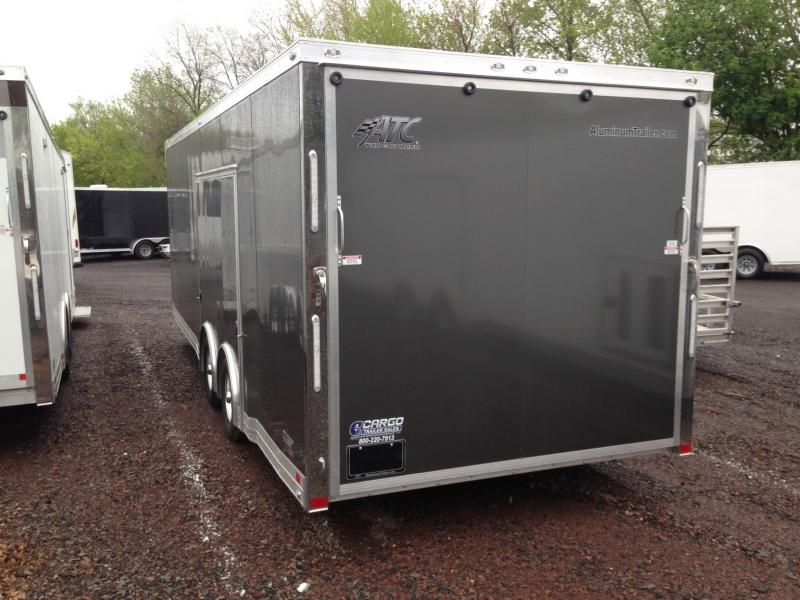 2017 Aluminum Trailer Company QSTAB8524+0-2T5.2K Enclosed Cargo Trailer