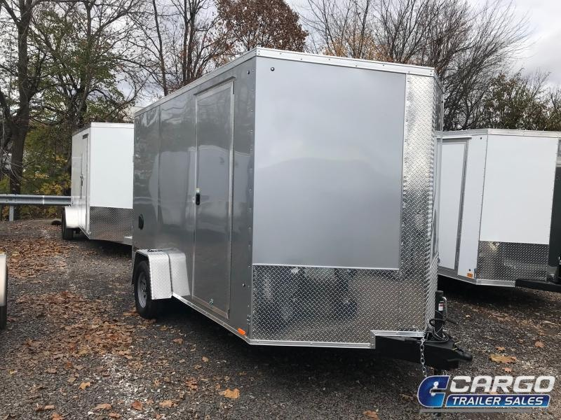 2018 Pace American JV 7x12 S/A Enclosed Cargo Trailer
