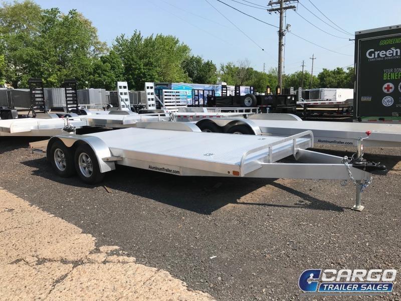 2018 Aluminum Trailer Company OCHAB8518+0-2S.35K Flatbed Trailer