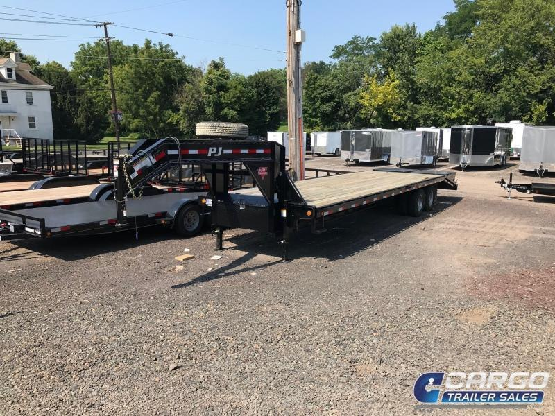 2019 PJ Trailers FD D/T GN DO Flatbed Trailer