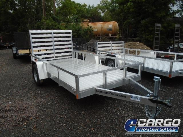 2018 Aluminum Trailer Company OUTAB6012 Flatbed Trailer