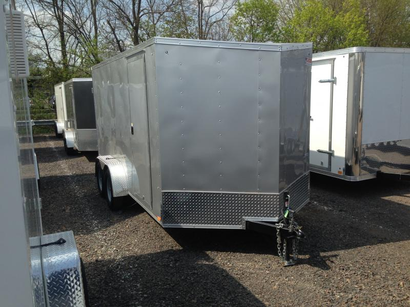 2019 Pace American OB 714 TE2 DLX Enclosed Cargo Trailer