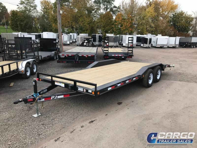 2018 PJ Trailers 20 B5 Car Hauler Flatbed Trailer