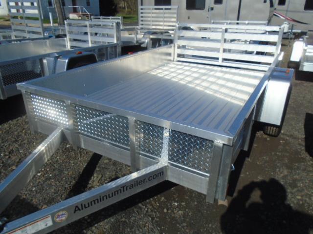 2017 Aluminum Trailer Company OUTAB6010 Flatbed Trailer