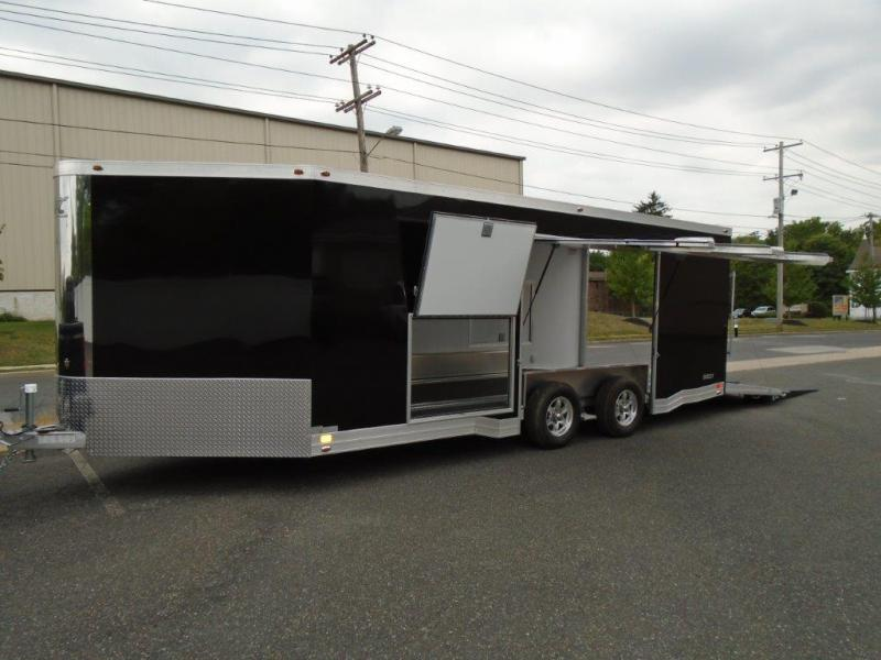 2018 Aluminum Trailer Company QSTAB8520+4-2T5.2K Enclosed Cargo Trailer