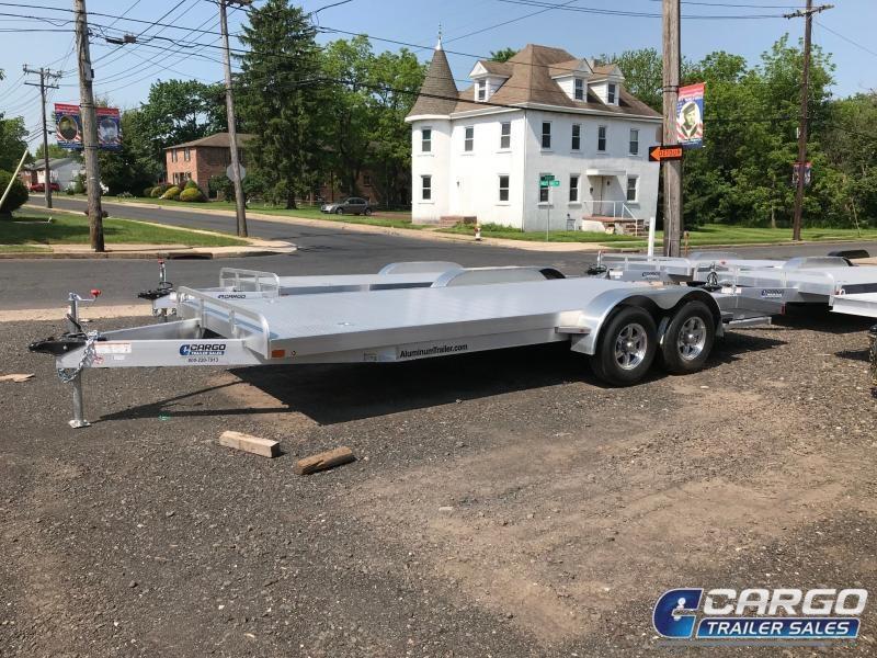 2018 Aluminum Trailer Company OCHAB8518+0-2S3.5K Flatbed Trailer