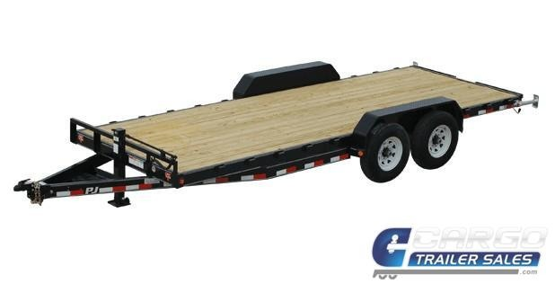 2019 PJ Trailers 20 CC EQ Flatbed Trailer
