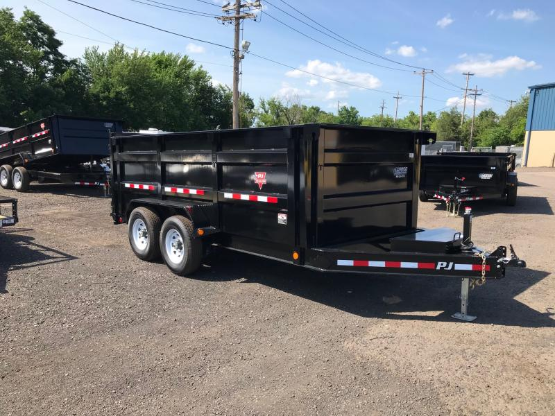 2019 PJ Trailers DM 14 Hi Side Dump Dump