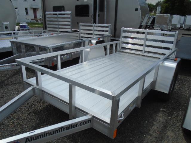 2017 Aluminum Trailer Company OUTAB5010 Flatbed Trailer