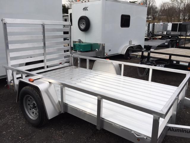 2016 Aluminum Trailer Company OUTAB6010 Flatbed Trailer