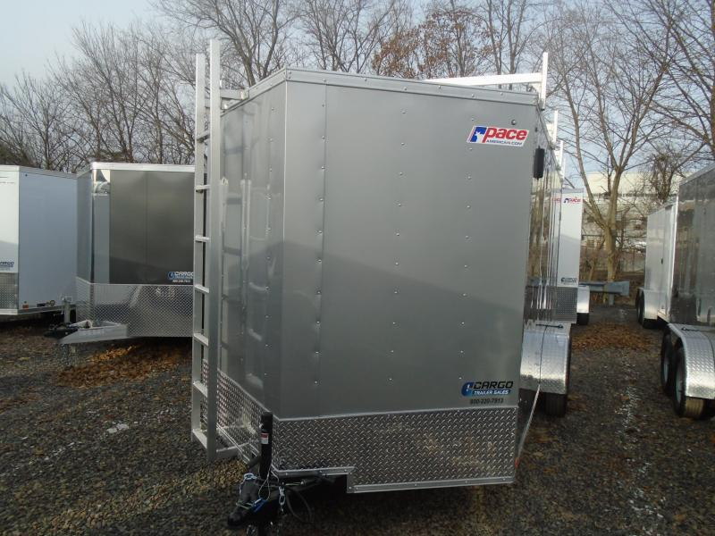 2020 Pace American OB 7x16 Enclosed Cargo Trailer