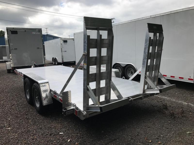 2017 SIC METALS 7X18 12K EQ Flatbed Trailer
