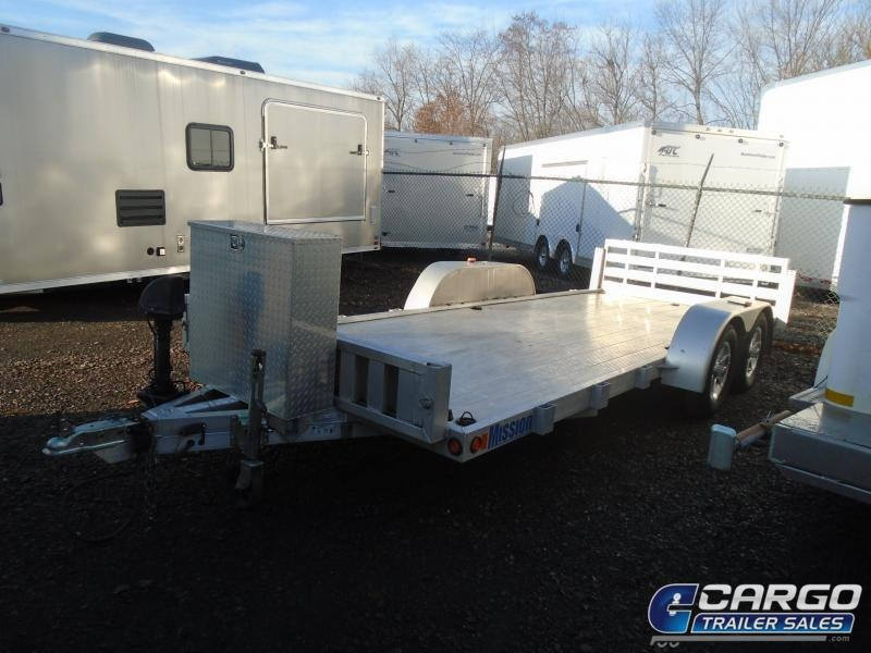 2013 Mission  Flatbed Trailer