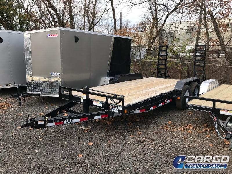 2018 PJ Trailers 18 CC EQ Flatbed Trailer