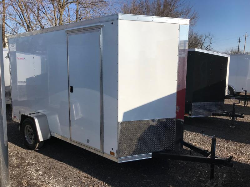 2019 Cross Trailers 612 Enclosed Cargo Trailer