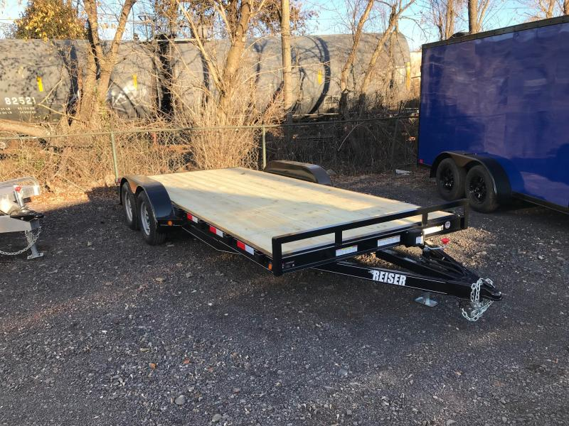 2018 Reiser Trailers WCH18 Flatbed Trailer