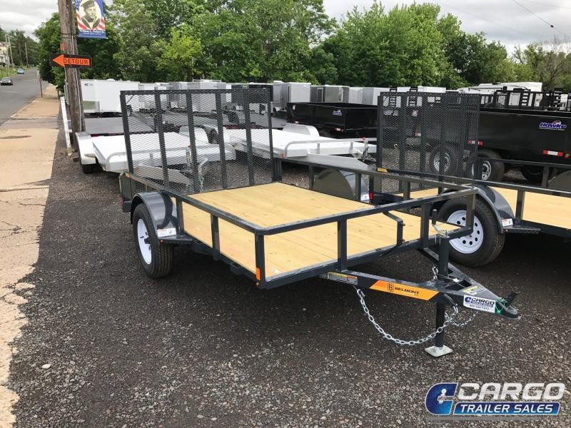 2018 Belmont Machine UT610TT Utility Trailer