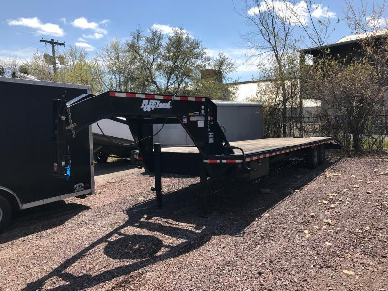 2011 ROADCLIPPER GN EQUIPMENT Flatbed Trailer