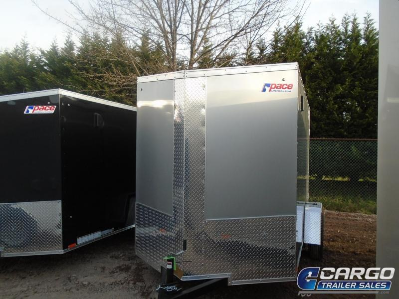 2018 Pace American JV 6x10 Enclosed Cargo Trailer