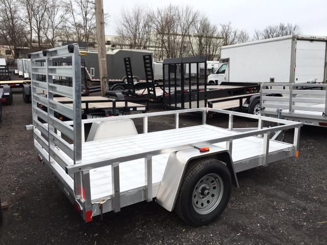 2018 Aluminum Trailer Company OUTAB6010 Flatbed Trailer