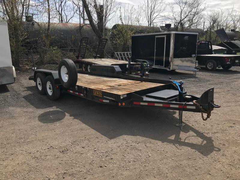 2013 CAM Superline Flatbed Trailer
