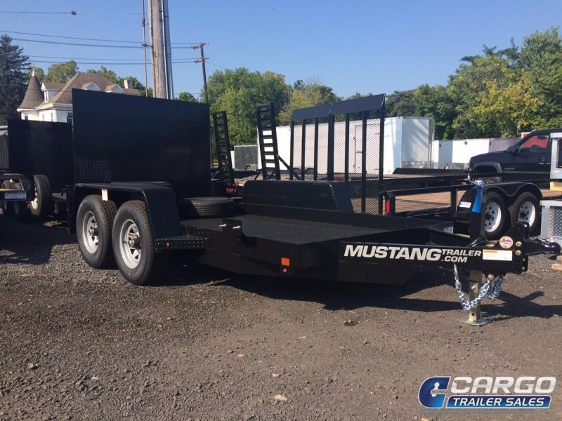 2019 Mustang Trailer 612MA9990G Equipment Trailer