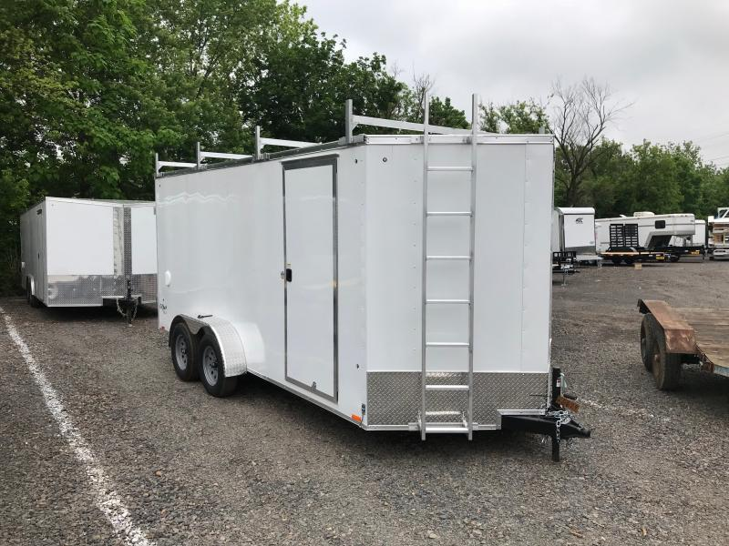 2019 Pace American OB 7X16 TE2  Enclosed Cargo Trailer