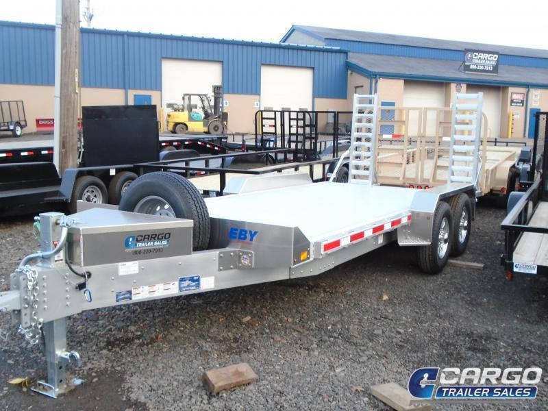2018 Eby Trailers BH18EQP Flatbed Trailer