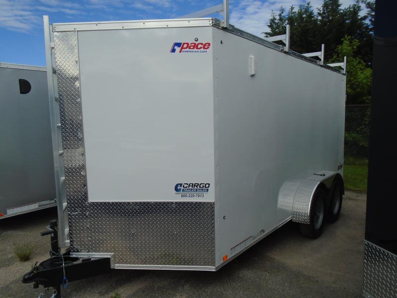 2020 Pace American JV 7 X 16 TE2 Enclosed Cargo Trailer