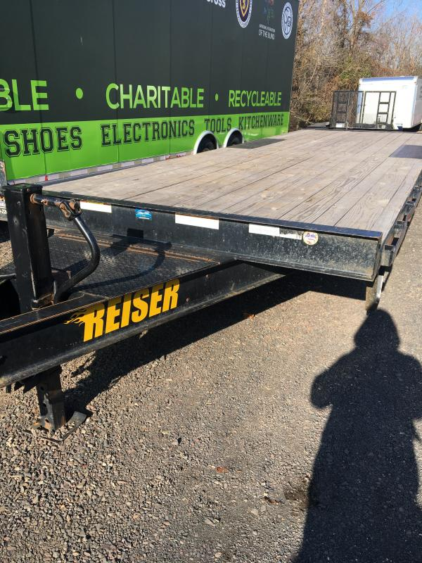2017 Reiser DO823 Equipment Trailer