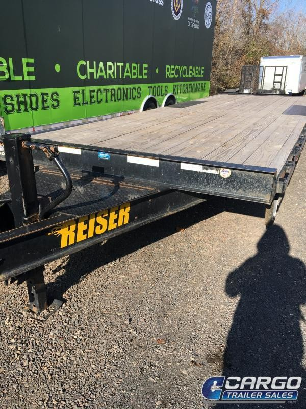 2017 Reiser DO823 Flatbed Trailer