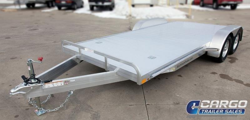 2018 Aluminum Trailer Company OCHAB8520+0-2T5.2K Flatbed Trailer
