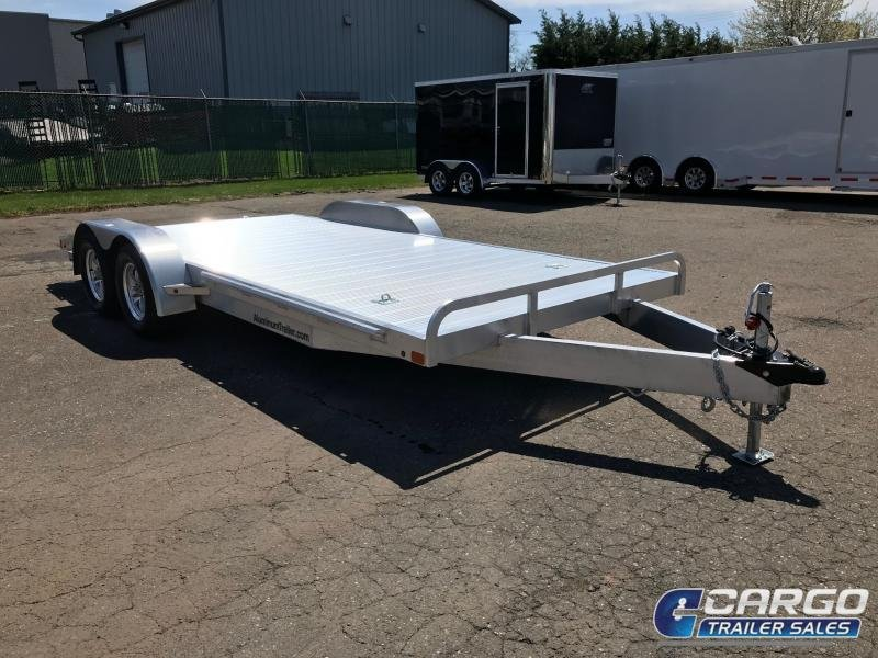 2019 Aluminum Trailer Company OCHAB8516+0-2S3.5K Flatbed Trailer