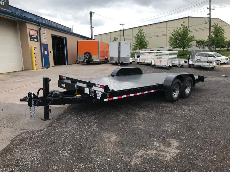 2019 Hawke Trailers EQ 20 15K Tilt Equipment Trailer