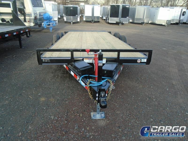 2019 PJ Trailers 20 Hydraulic Quick Tilt Flatbed Trailer