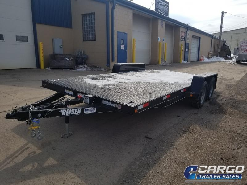 2019 Reiser Trailers DCH18 Flatbed Trailer