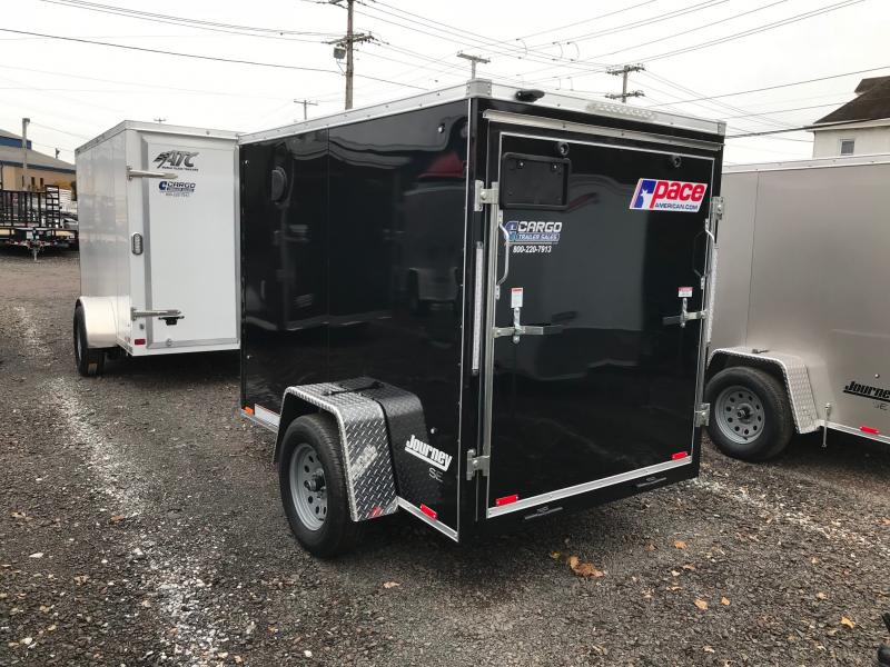 2020 Pace American OB 5X8S12DLX Enclosed Cargo Trailer