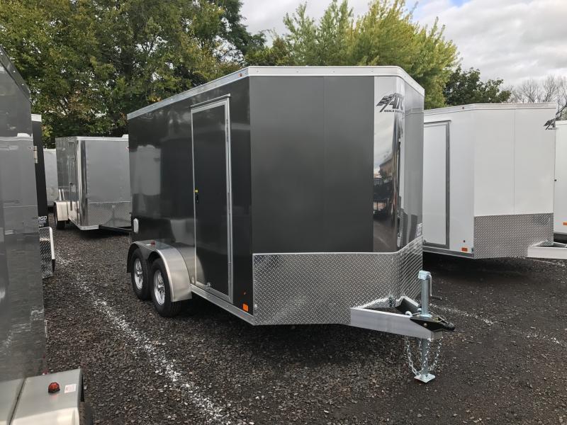 2018 Aluminum Trailer Company RAVAB7012+2-2S3.5k Enclosed Cargo Trailer
