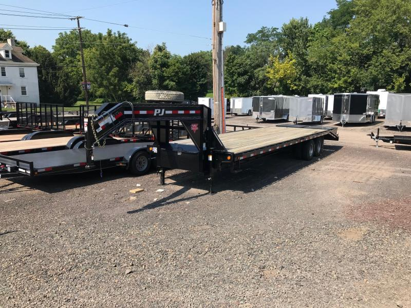 2018 PJ Trailers FD D/T GN DO Flatbed Trailer