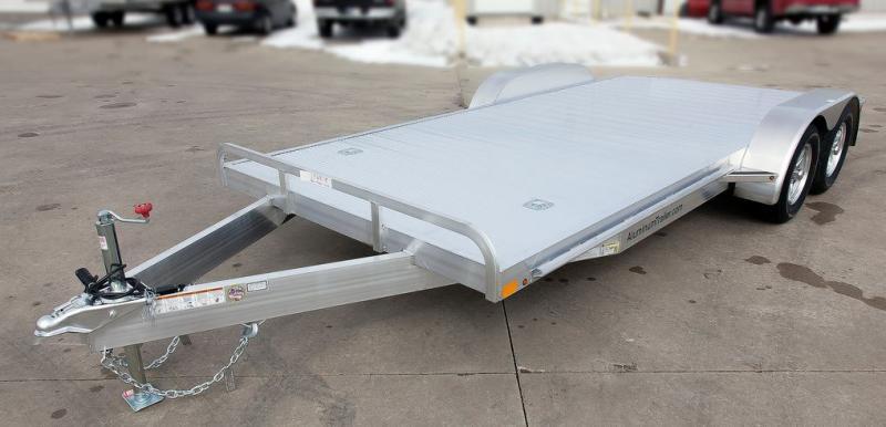 2018 Aluminum Trailer Company OCHAB8520+0-2T.35K Flatbed Trailer