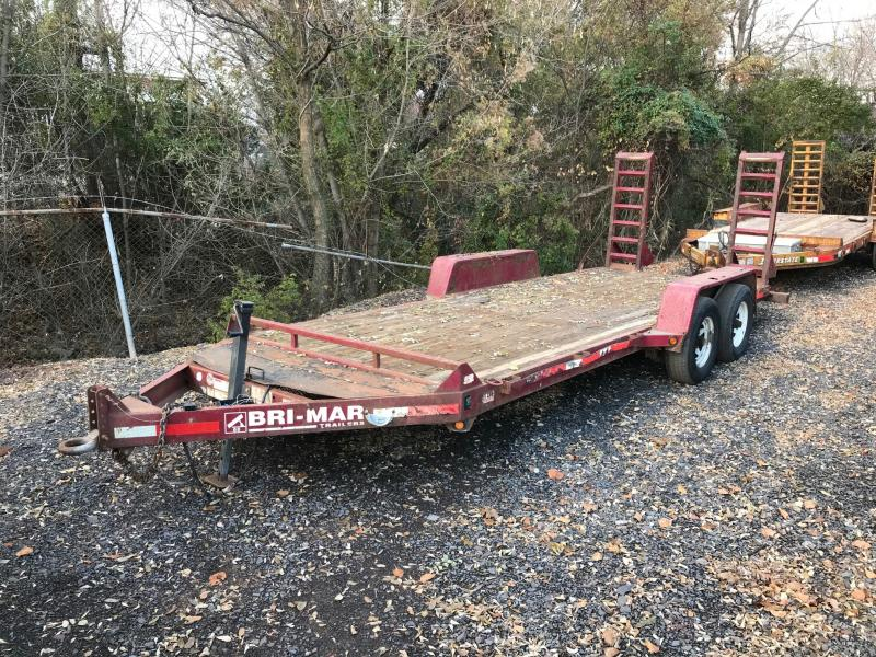 2010 Bri Mar  Flatbed Trailer
