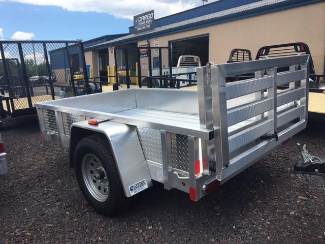 2017 Aluminum Trailer Company OUTAB5008 Flatbed Trailer