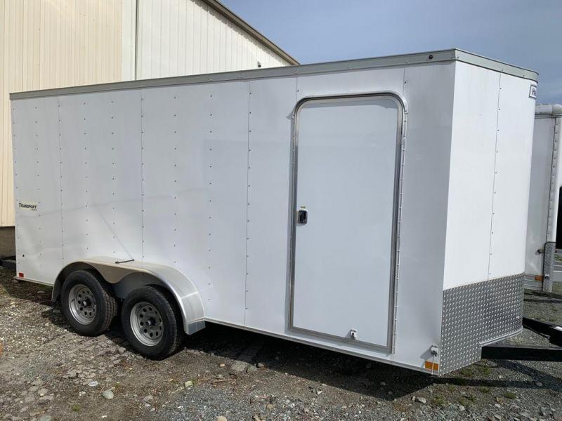 2019 Haulmark Transport V-Nose TSV716T2 Enclosed Cargo Trailer