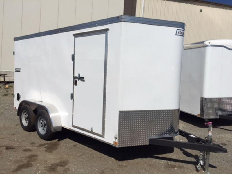 2019 Haulmark Transport 7x14 Barn Door Enclosed Cargo Trailer