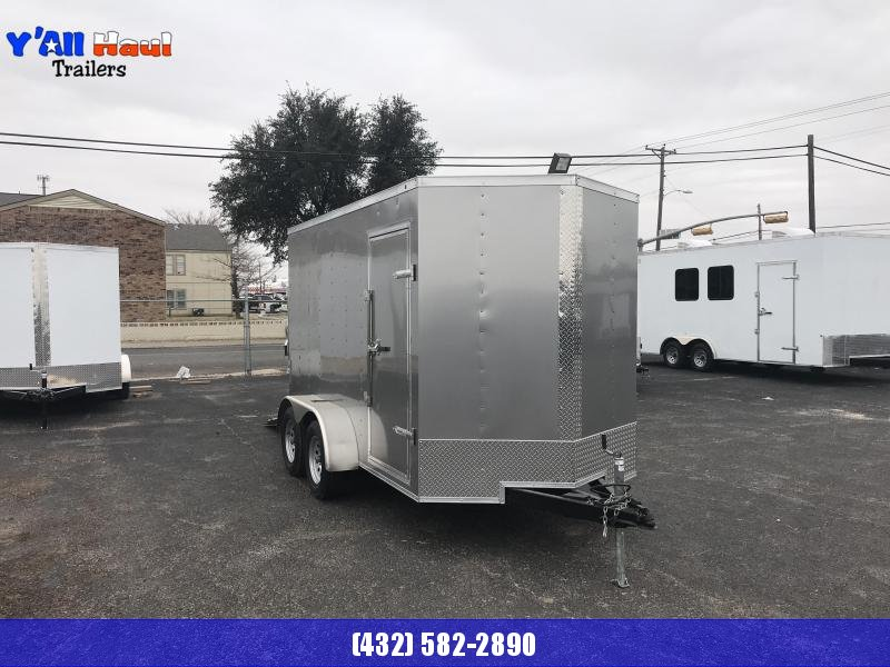 Salvation 6 x 12 Enclosed Tandem Trailer