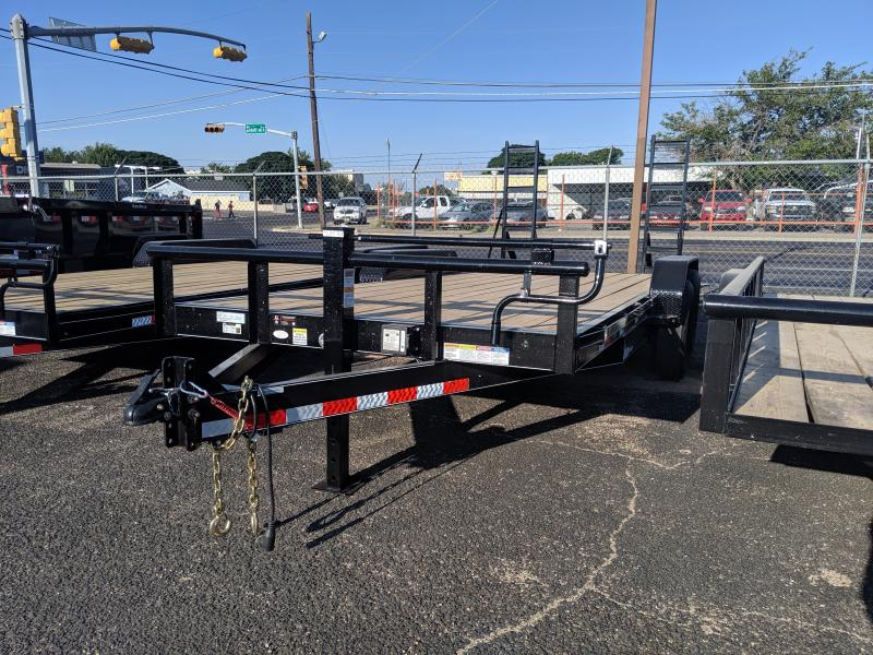 2019 BCI Trailers 83x18 equipment hauler Equipment Trailer