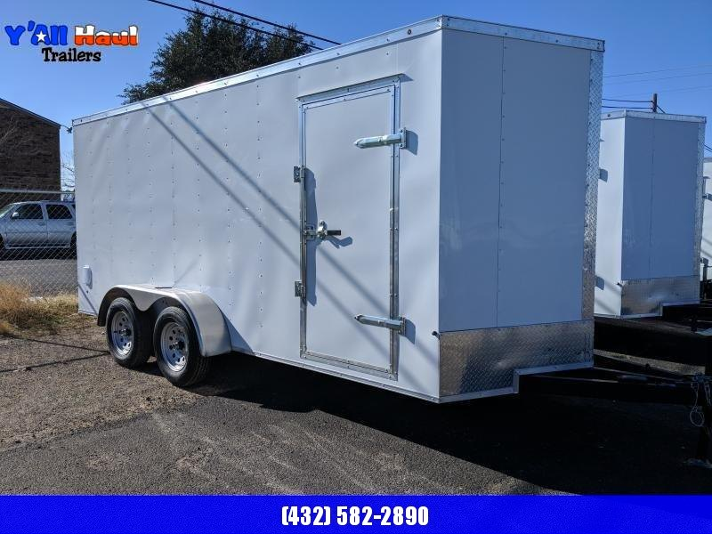 Salvation 7x16 Enclosed Trailer